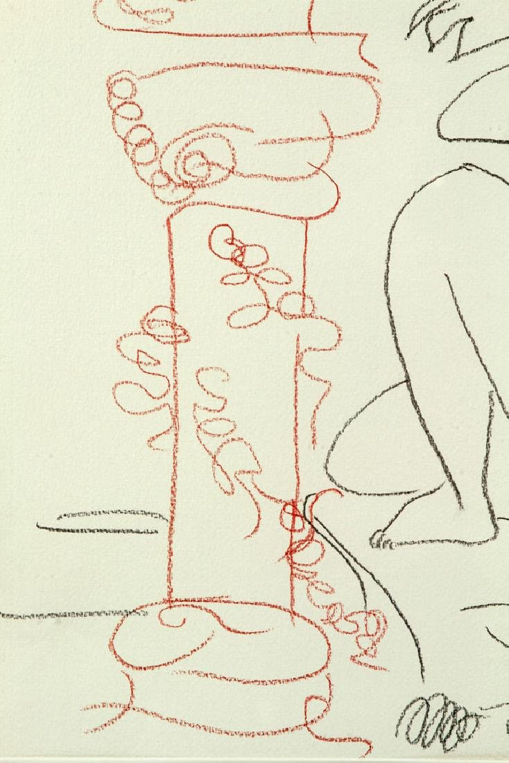 After Picasso, Line Drawing - 6