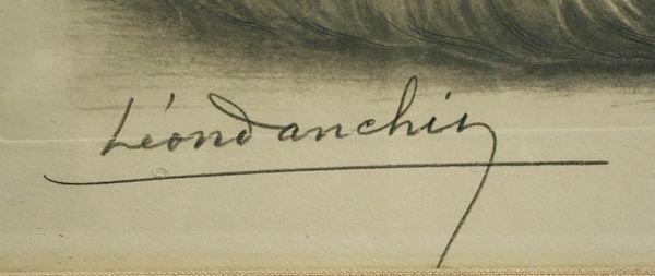 3054: LEON DANCHIN, SETTERS RESTING, 1938 - 2
