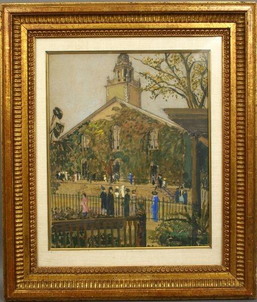 5: EARLY 20th C. MARBLEHEAD CHURCH OF CHRIST W/C
