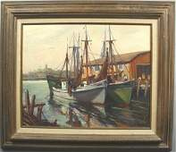 243 SGND GARBELY GLOUCESTER FISHING BOATS OC