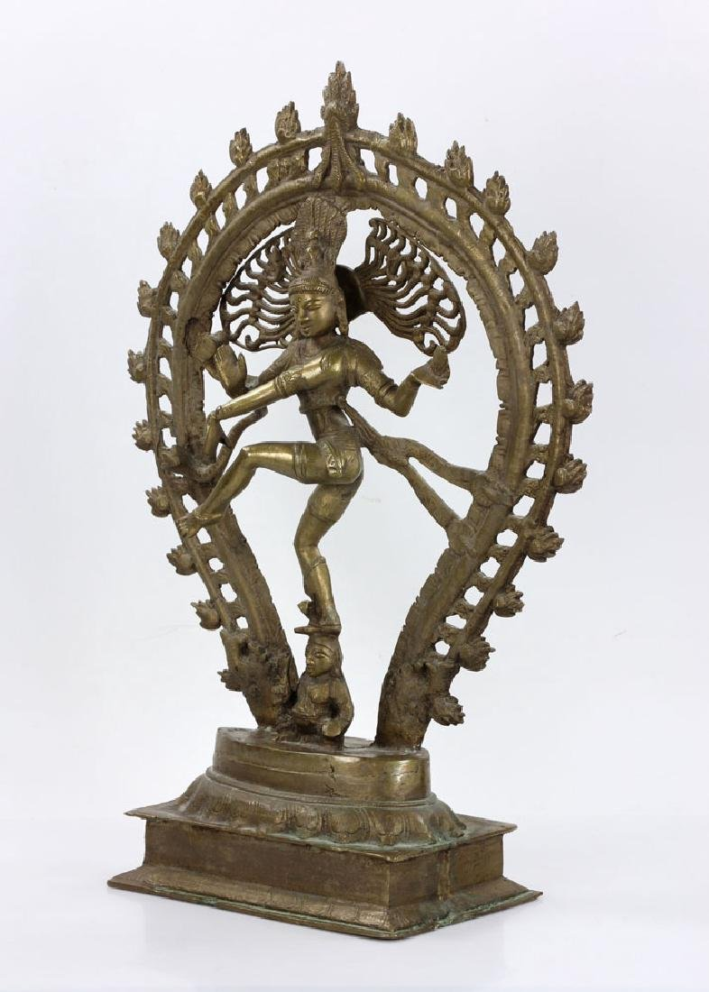 Bronze Shiva Figure