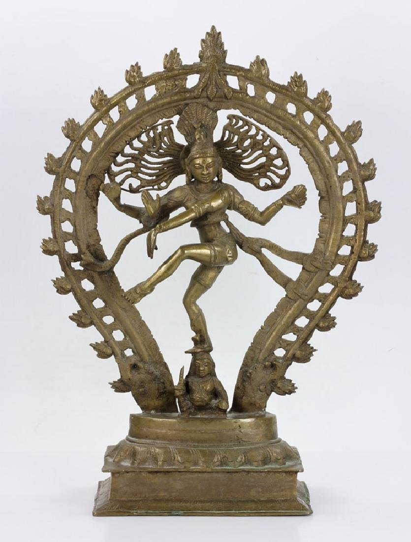 Bronze Shiva Figure - 2