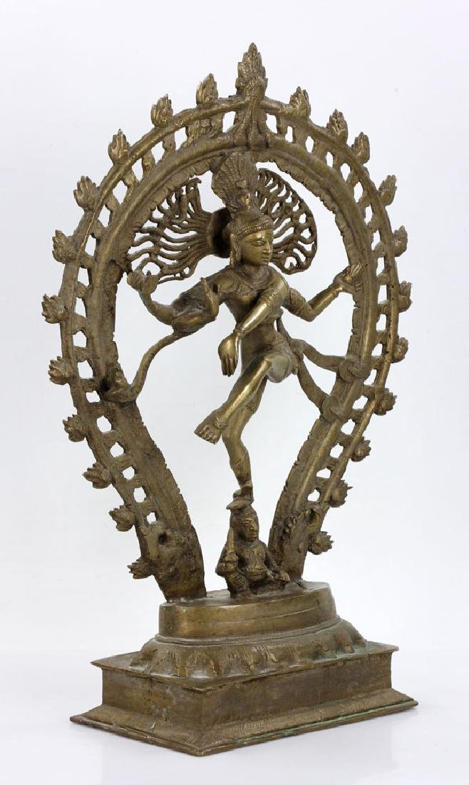 Bronze Shiva Figure - 3
