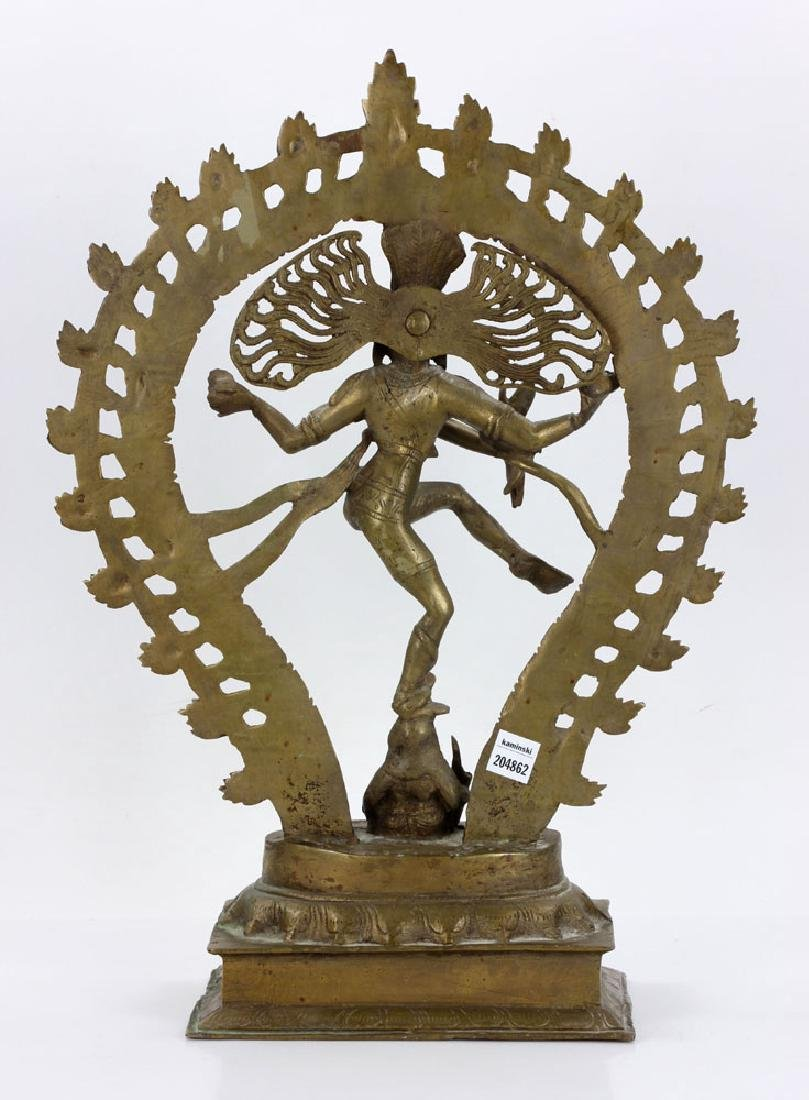 Bronze Shiva Figure - 4