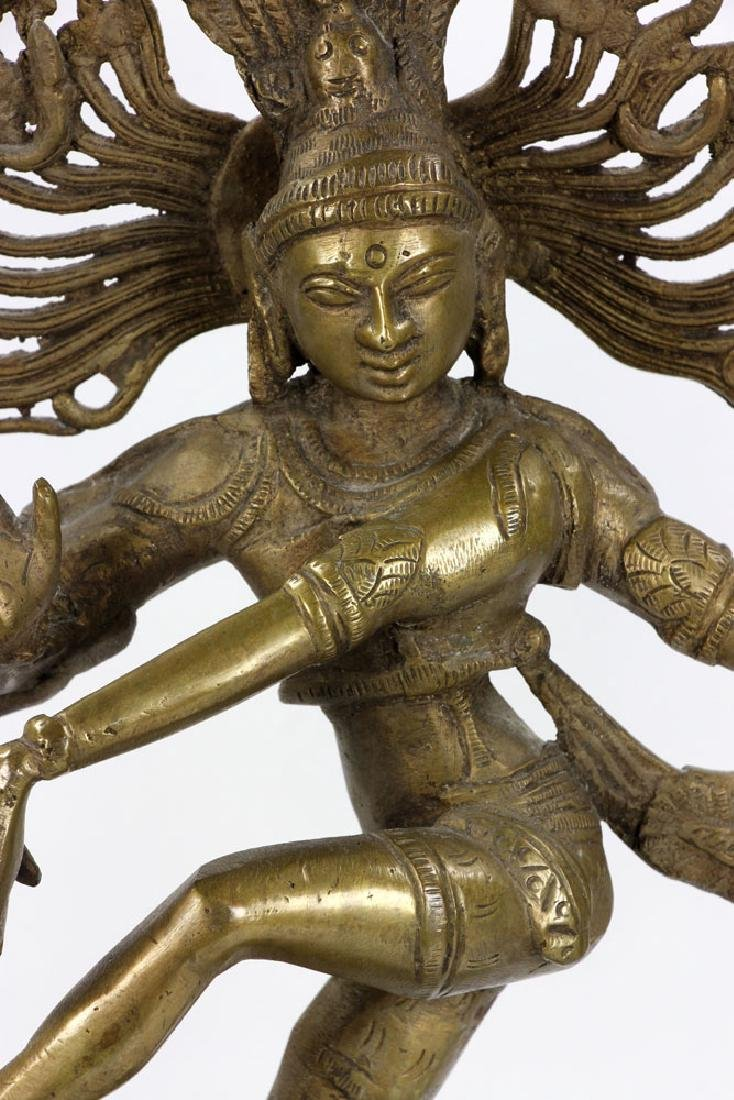 Bronze Shiva Figure - 6