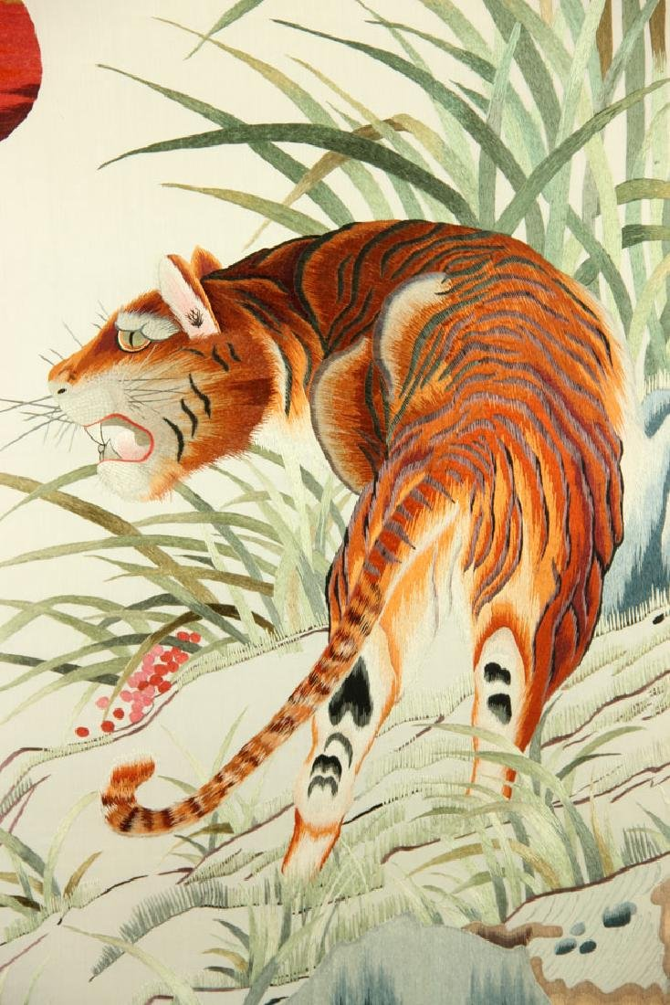 Japanese Tiger Embroidery - 3