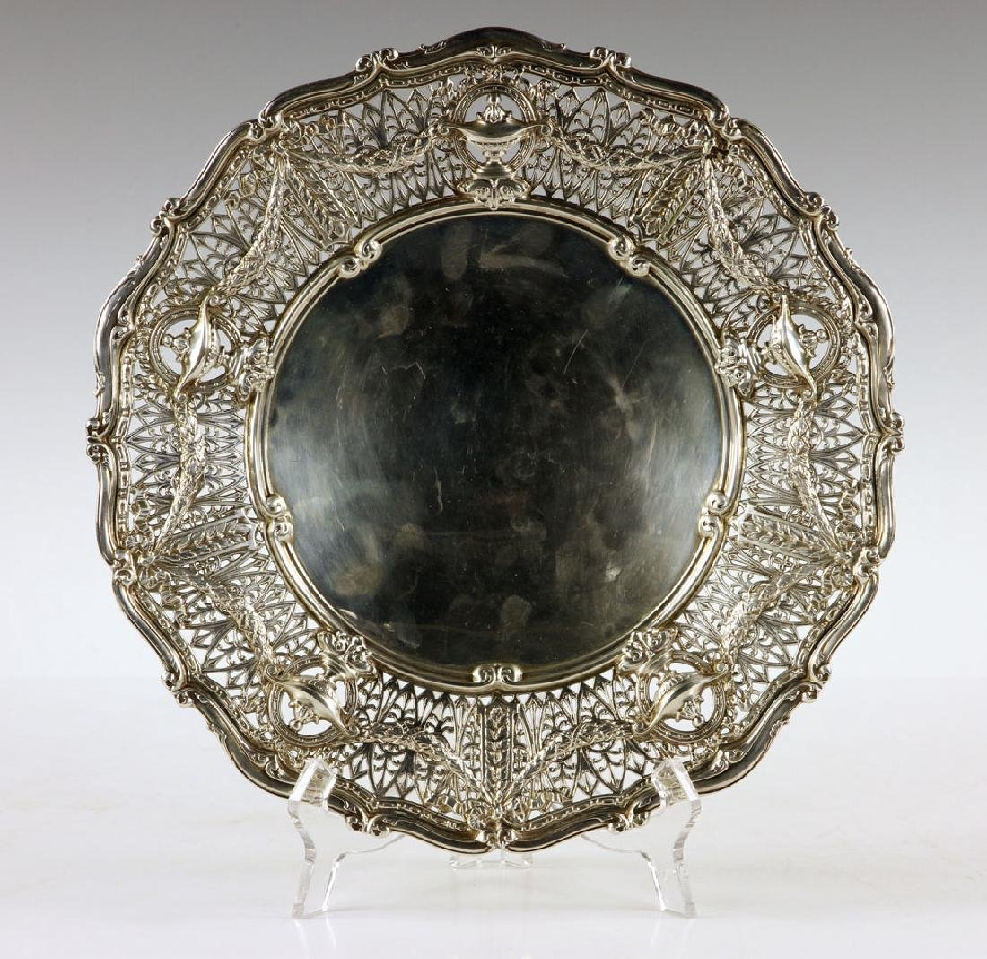 Shreve & Co. Sterling Silver Cake Dish