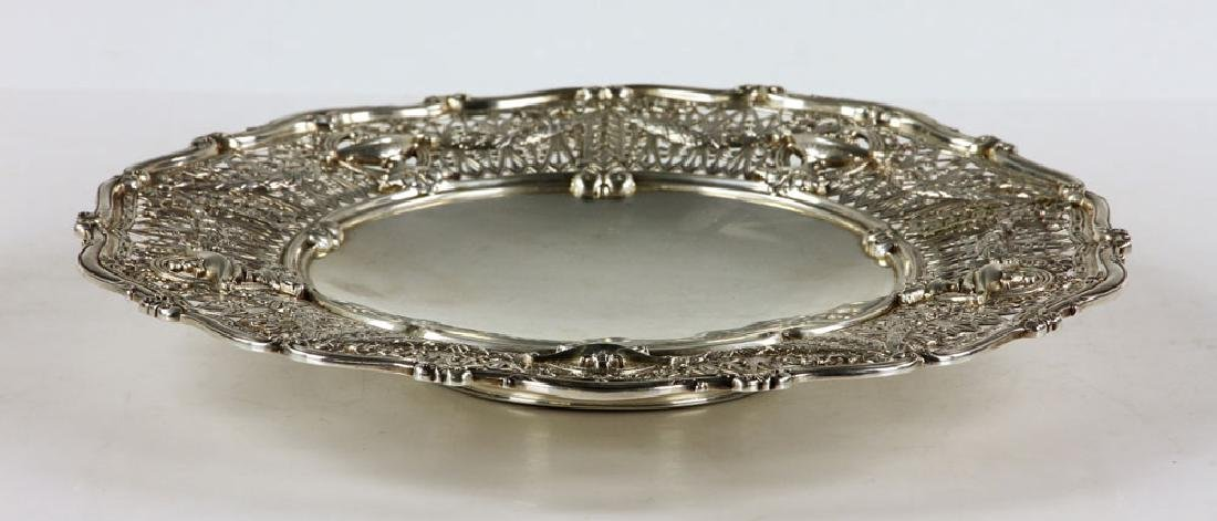 Shreve & Co. Sterling Silver Cake Dish - 3