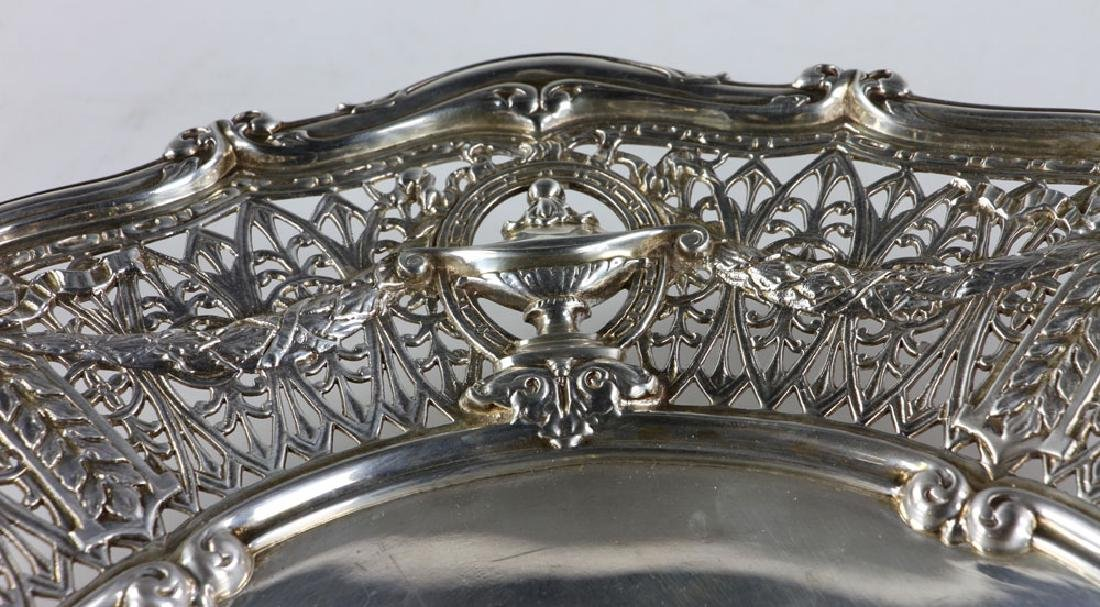 Shreve & Co. Sterling Silver Cake Dish - 4