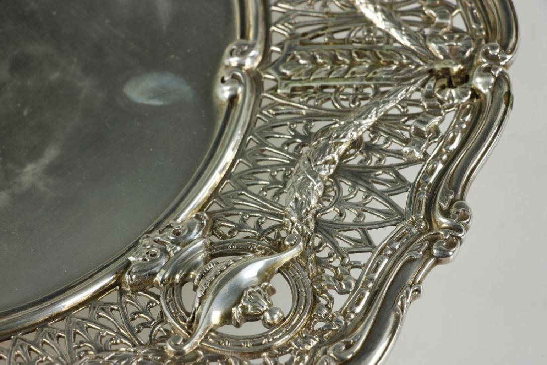 Shreve & Co. Sterling Silver Cake Dish - 5