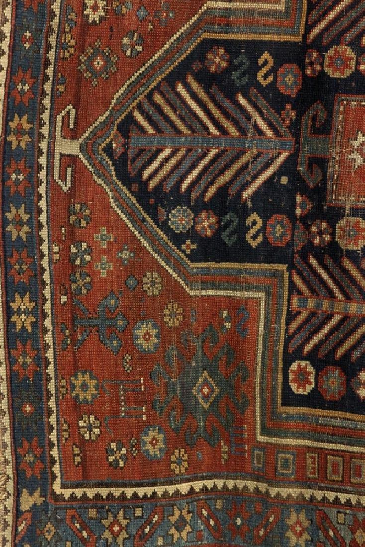 Antique Caucasian Kazak Carpet - 3