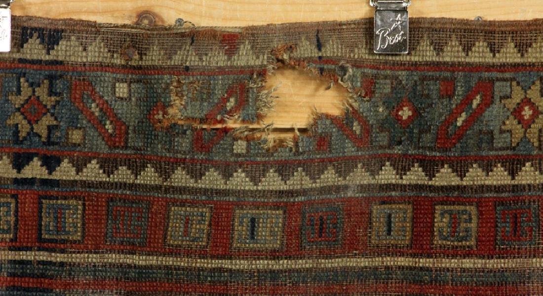 Antique Caucasian Kazak Carpet - 5