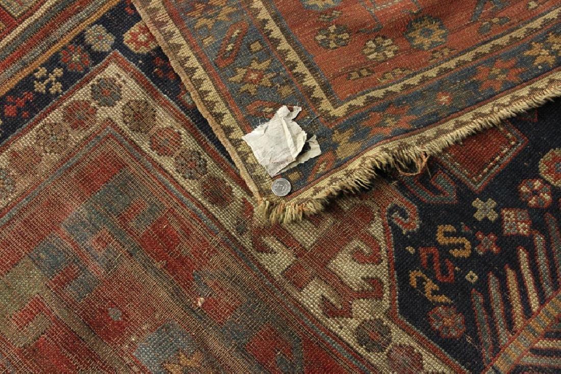 Antique Caucasian Kazak Carpet - 6