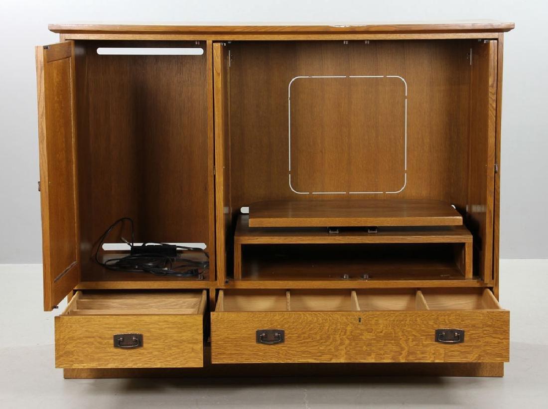 Stickley Quarter Sawn Oak Cabinet - 2