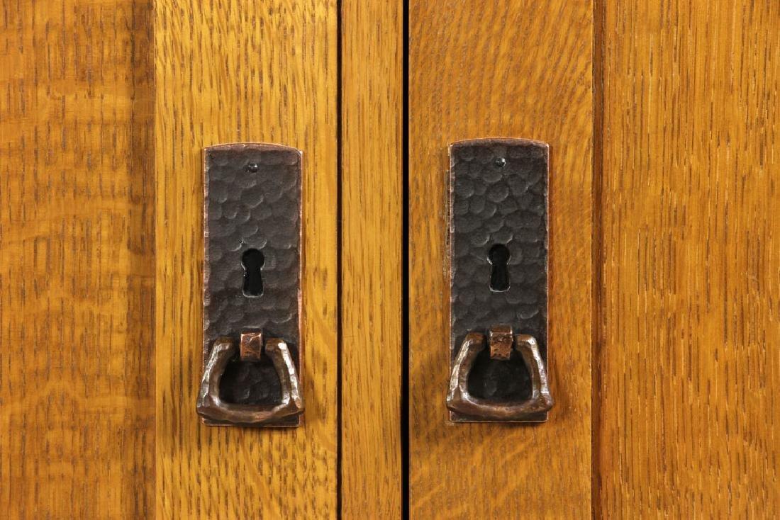 Stickley Quarter Sawn Oak Cabinet - 5