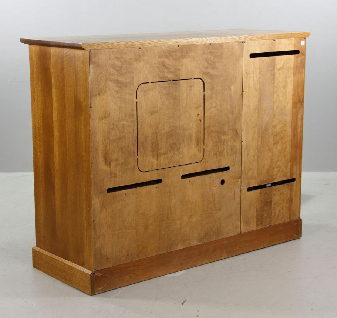 Stickley Quarter Sawn Oak Cabinet - 7