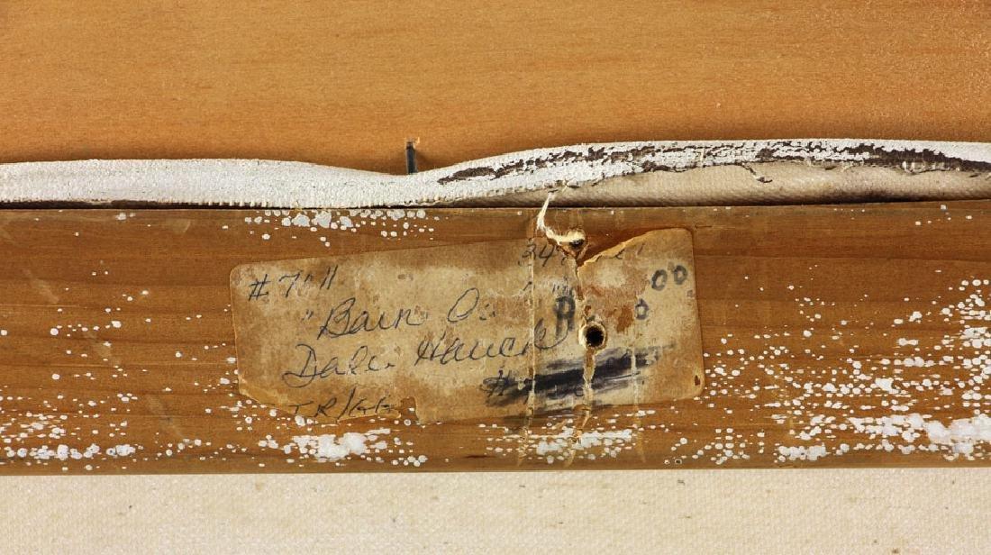 Hauck, Barn Owl, Oil on Canvas - 7