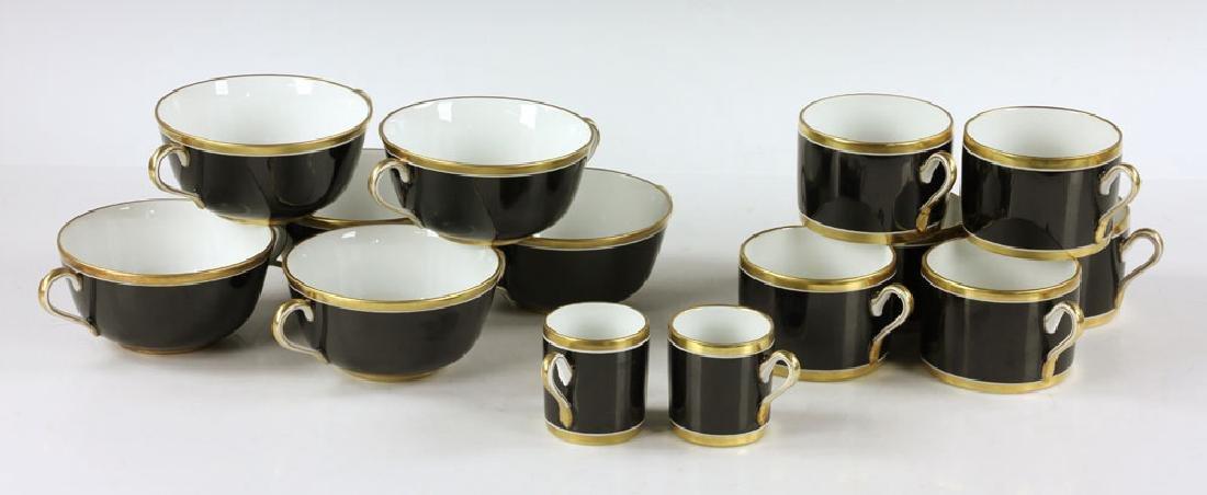 Richard-Ginori Porcelain Dinner Set - 5