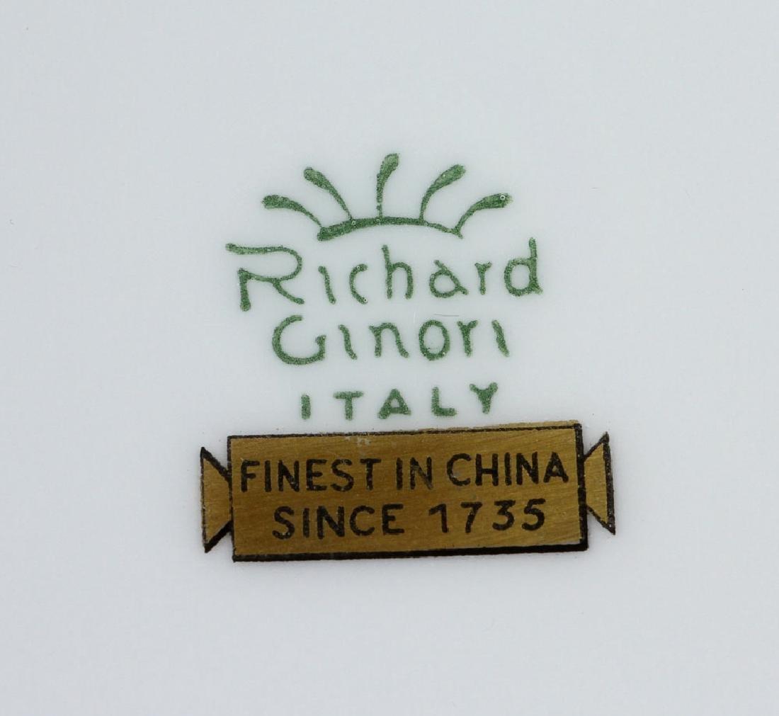 Richard-Ginori Porcelain Dinner Set - 8
