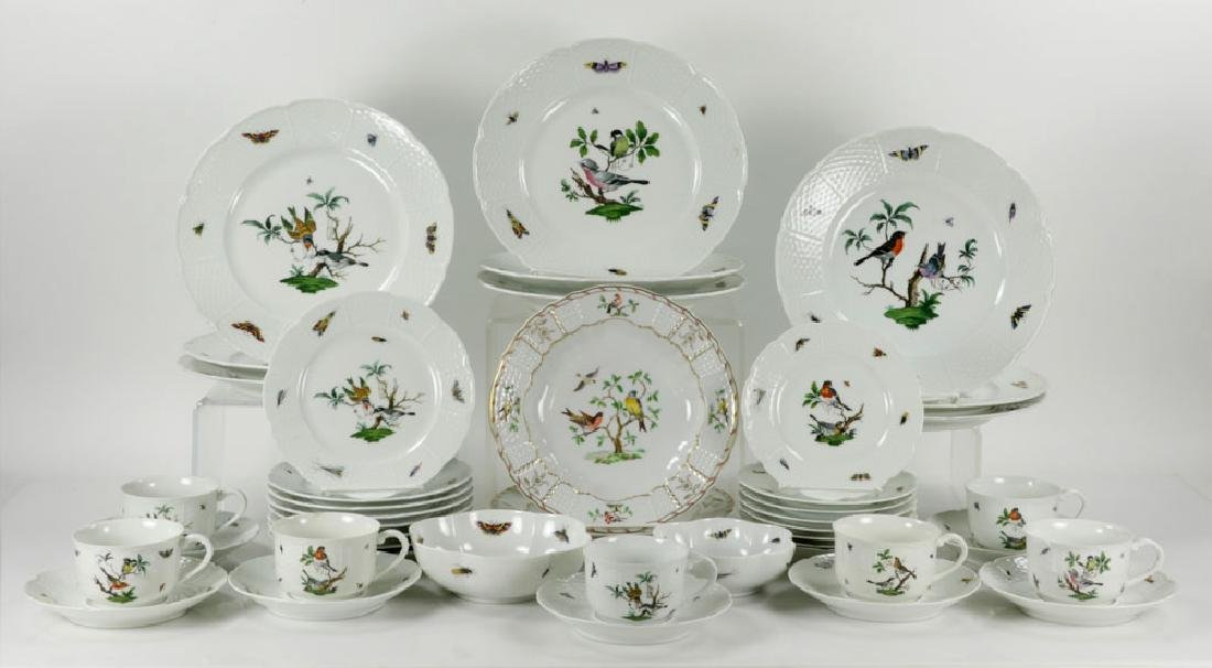 French Limoges Ceralene Dinner Service