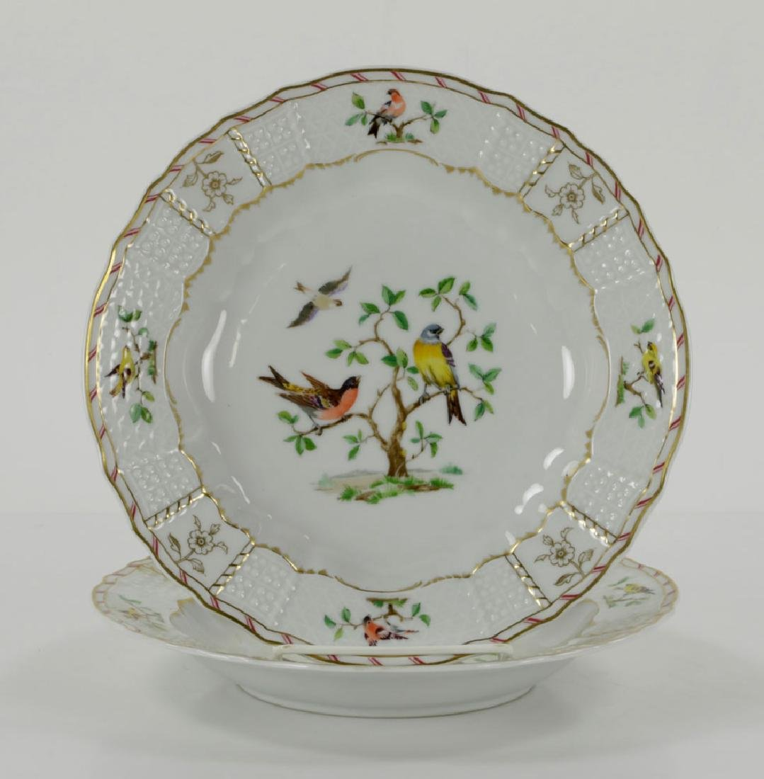 French Limoges Ceralene Dinner Service - 7