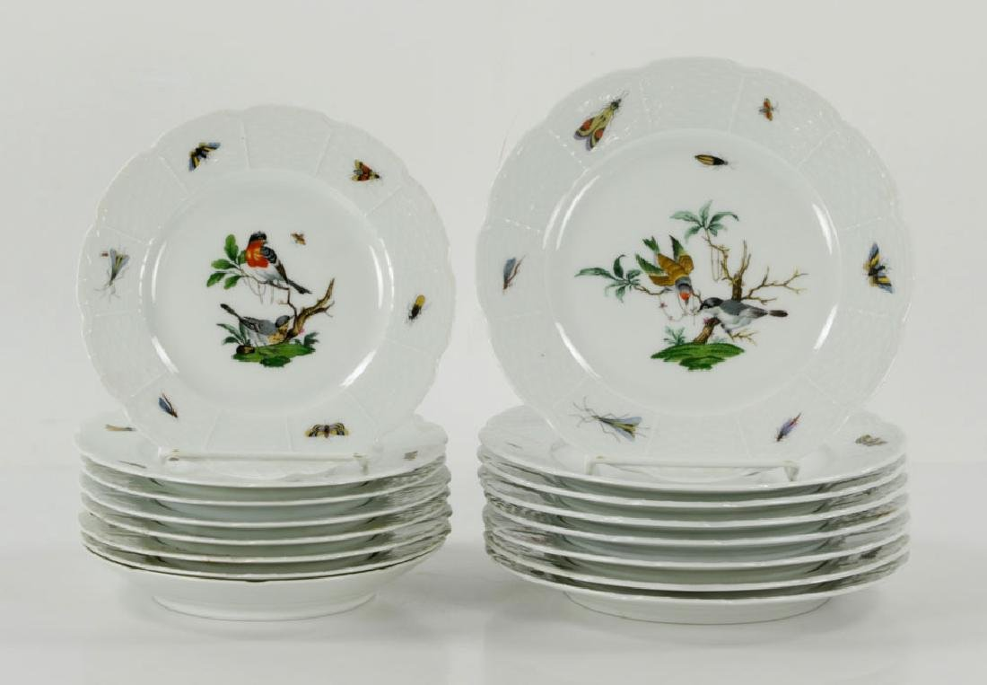 French Limoges Ceralene Dinner Service - 8