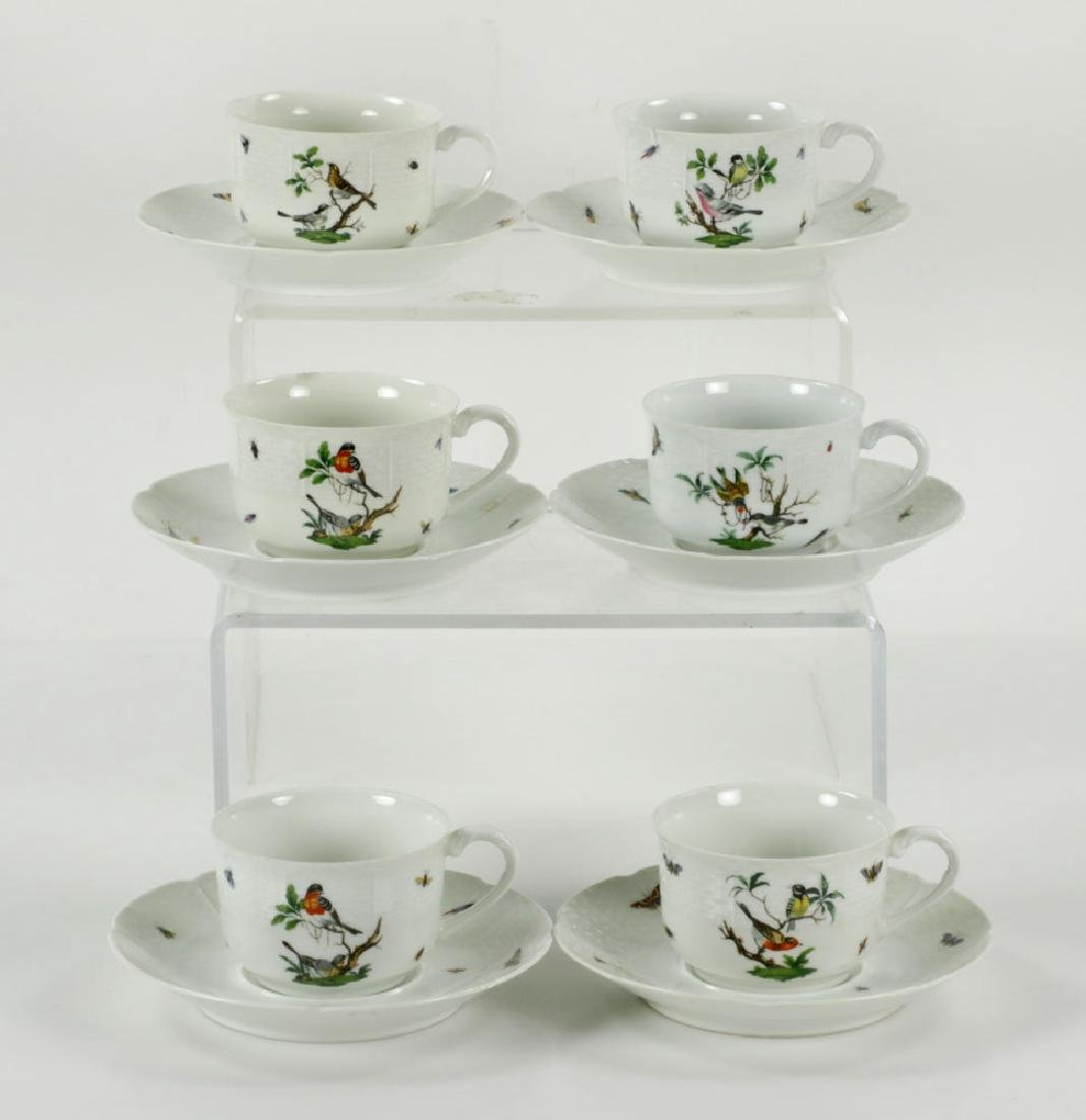 French Limoges Ceralene Dinner Service - 9