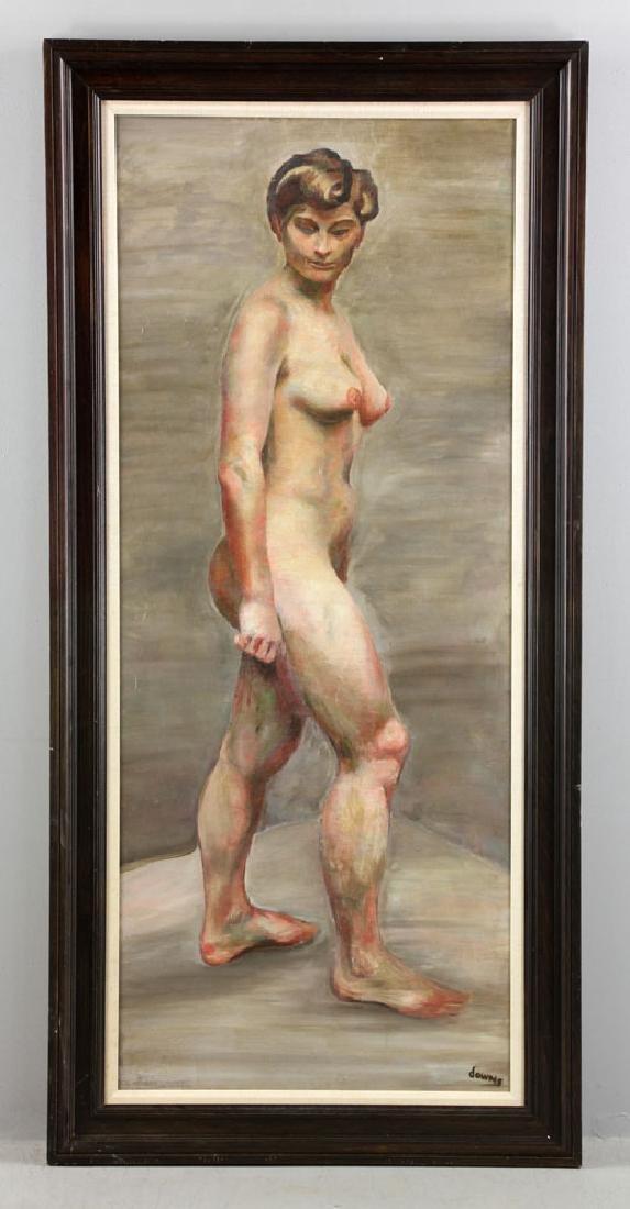 Carter, Nude, Oil on Canvas