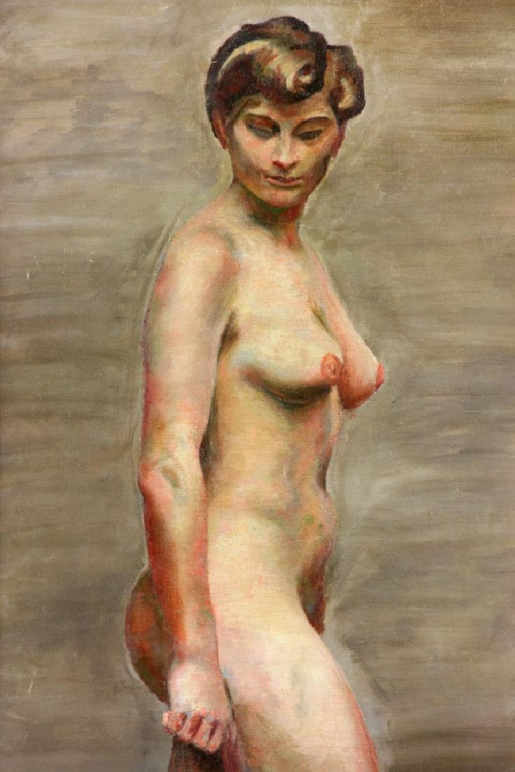 Carter, Nude, Oil on Canvas - 2