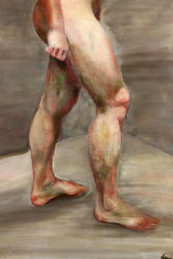 Carter, Nude, Oil on Canvas - 3