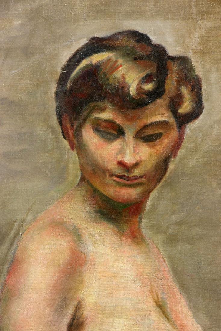 Carter, Nude, Oil on Canvas - 4