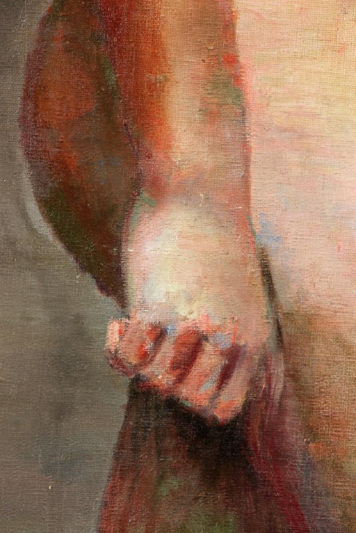 Carter, Nude, Oil on Canvas - 5