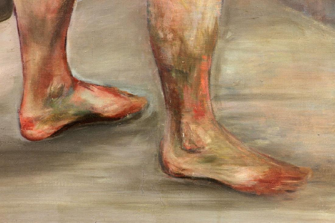 Carter, Nude, Oil on Canvas - 6
