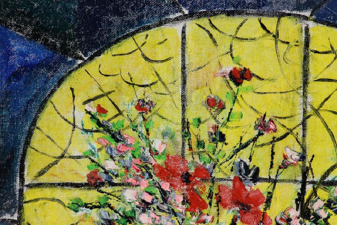 Nemerov, Floral Still Life, Oil on Canvas - 4
