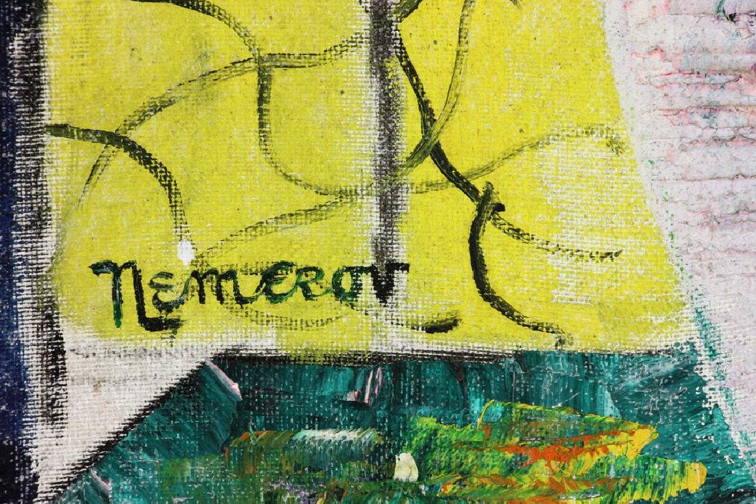 Nemerov, Floral Still Life, Oil on Canvas - 6