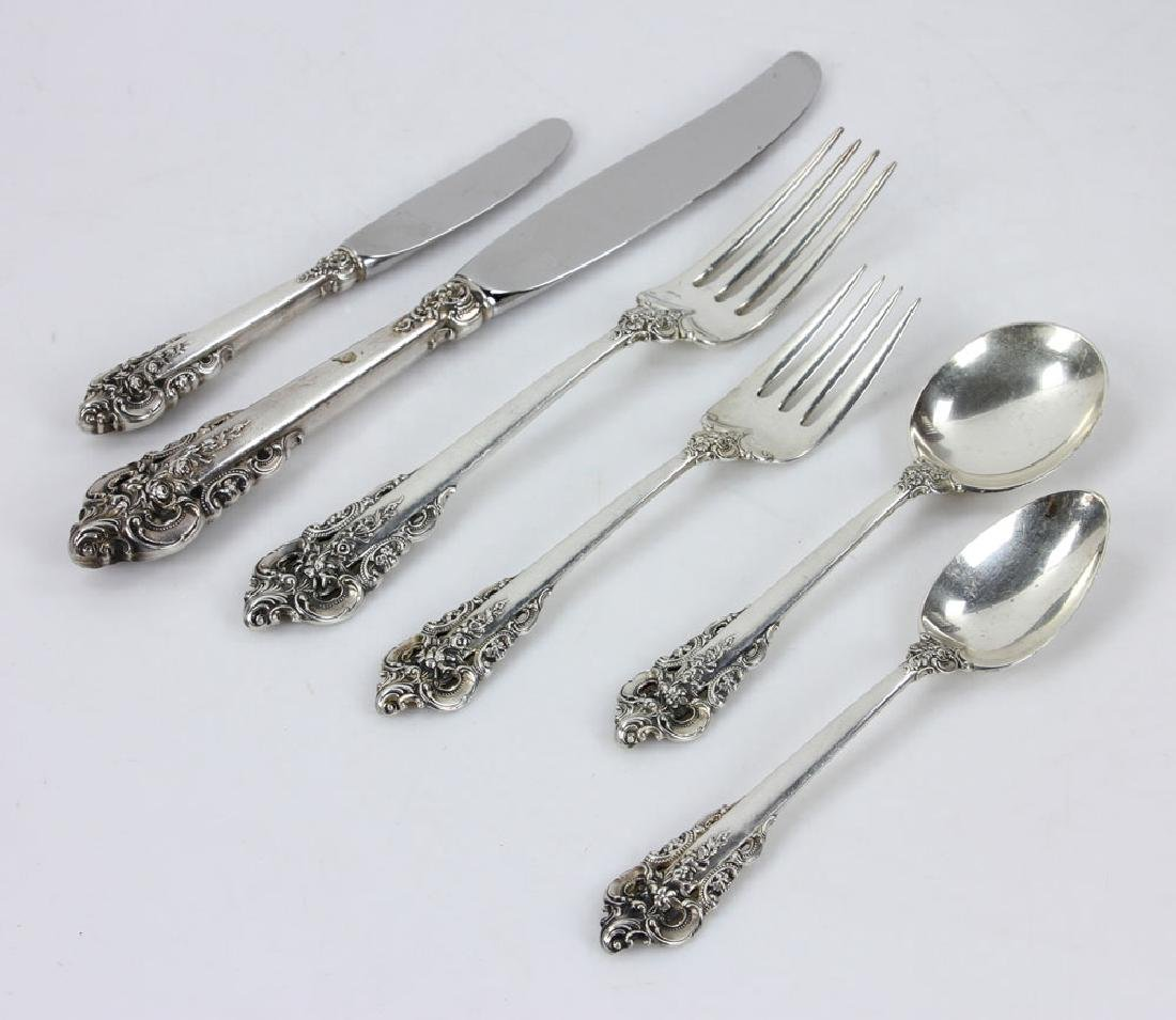 Wallace Grand Baroque Sterling Service for 9 - 6