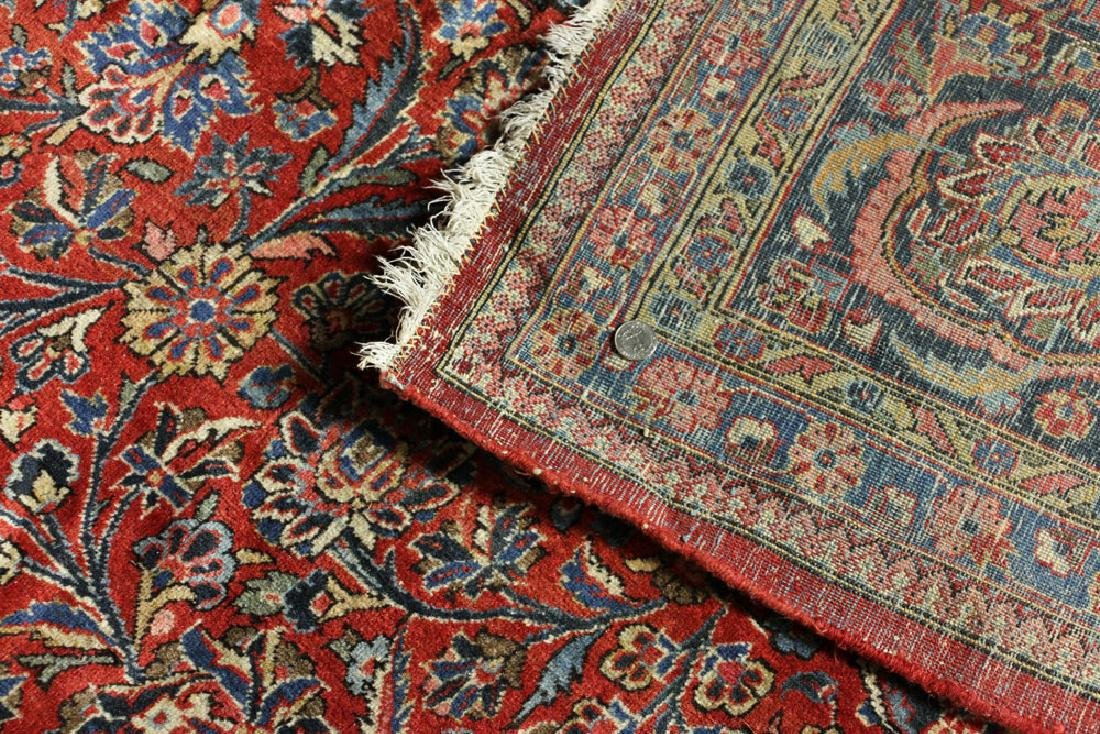 Antique Persian Kashan Rug - 2