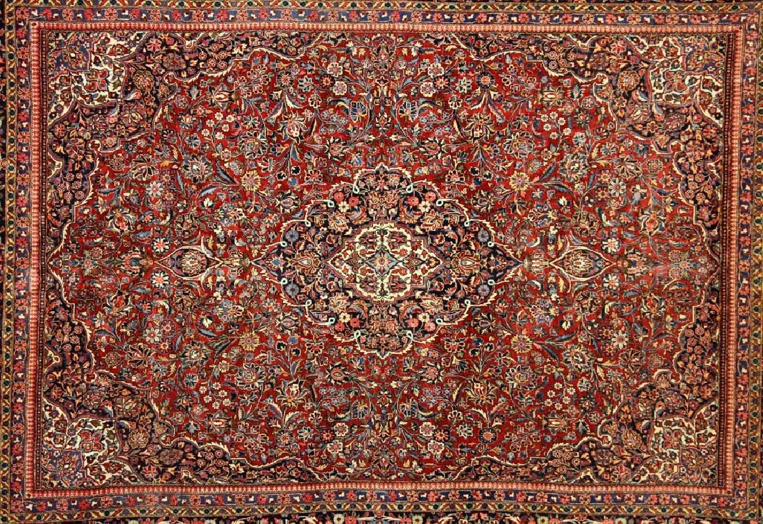 Antique Persian Kashan Rug - 3