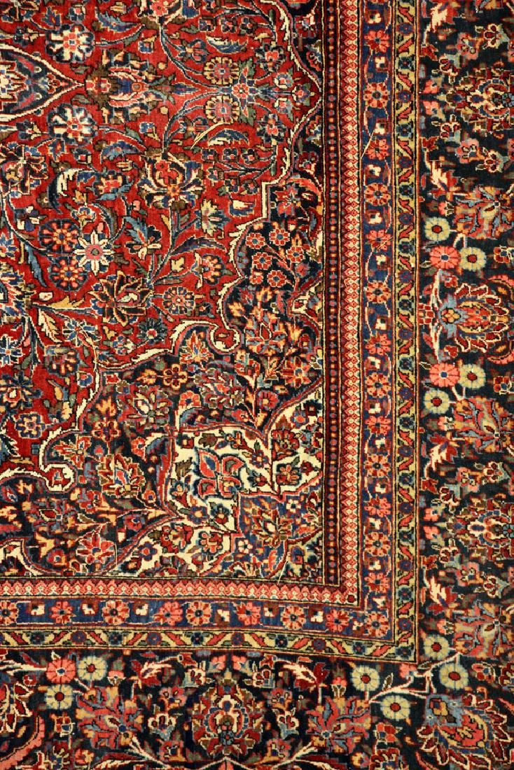 Antique Persian Kashan Rug - 4