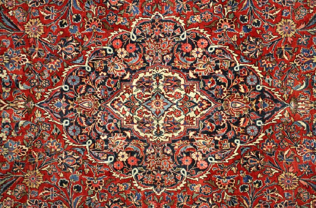 Antique Persian Kashan Rug - 5