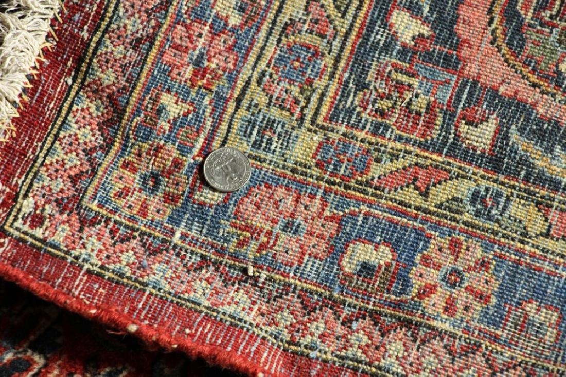 Antique Persian Kashan Rug - 6