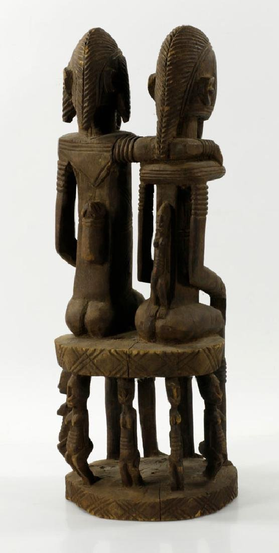 African Dogon Carved Ancestral Figures - 2