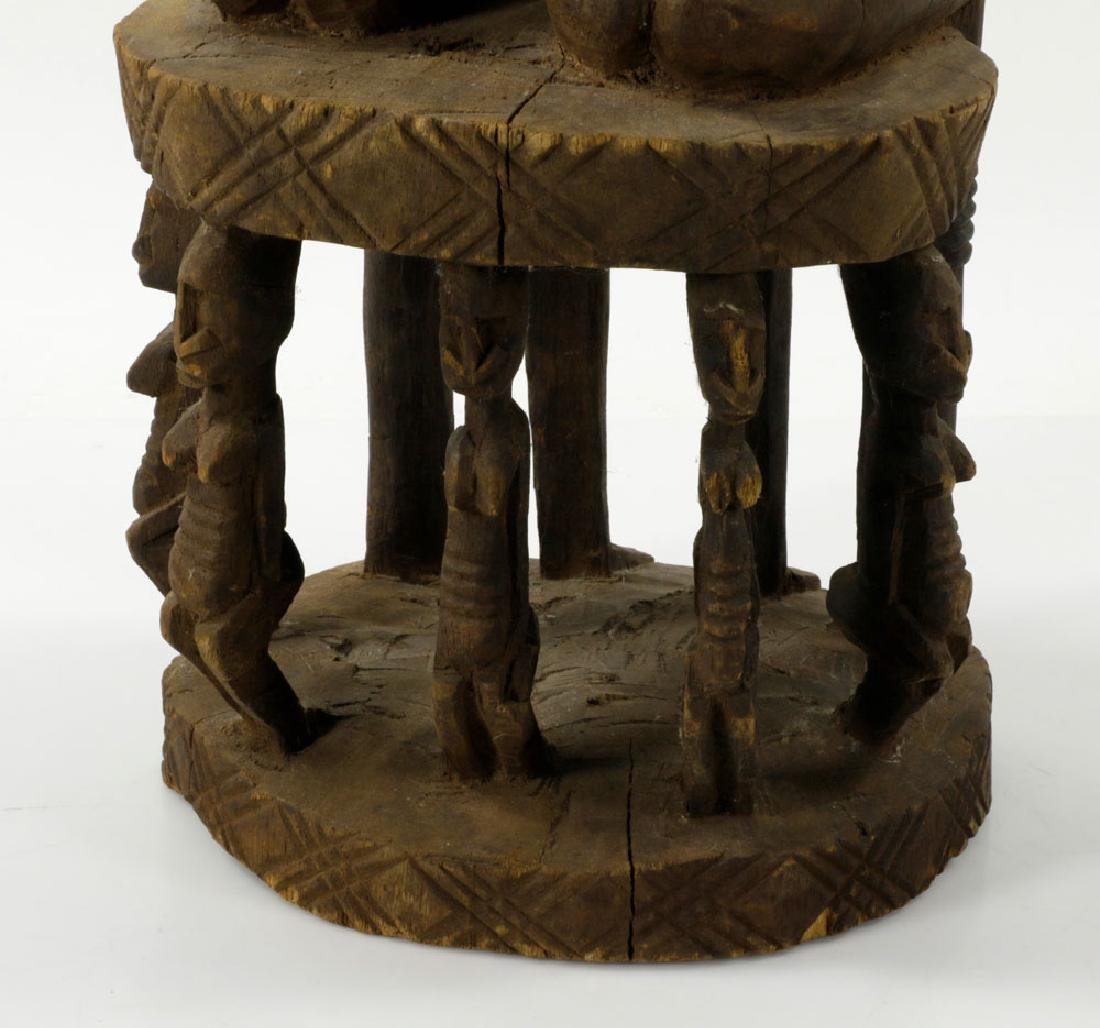 African Dogon Carved Ancestral Figures - 3