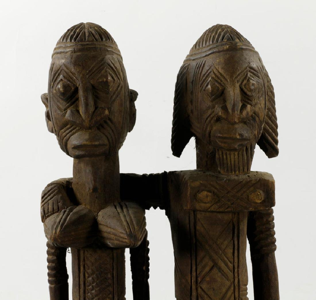 African Dogon Carved Ancestral Figures - 4