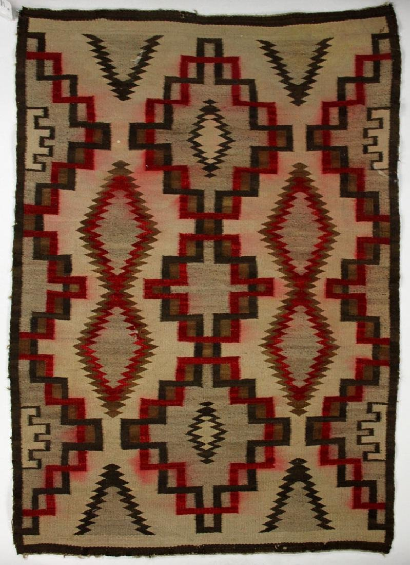 Early 20th C. Southwest Native American Carpet