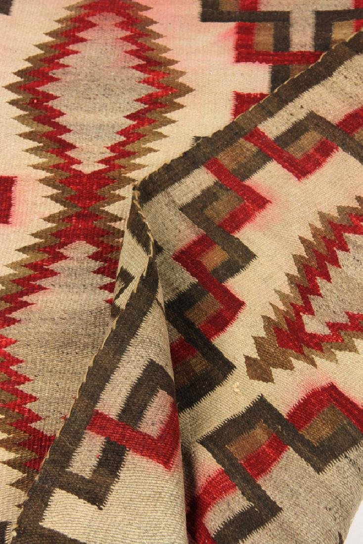Early 20th C. Southwest Native American Carpet - 4