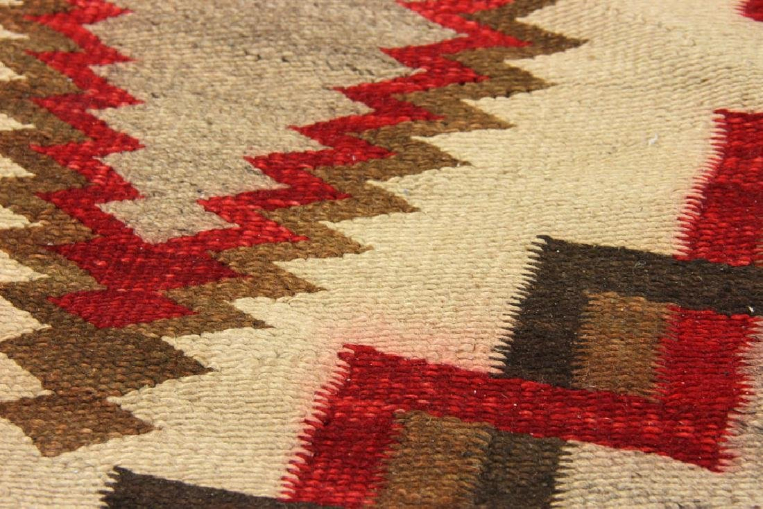 Early 20th C. Southwest Native American Carpet - 5