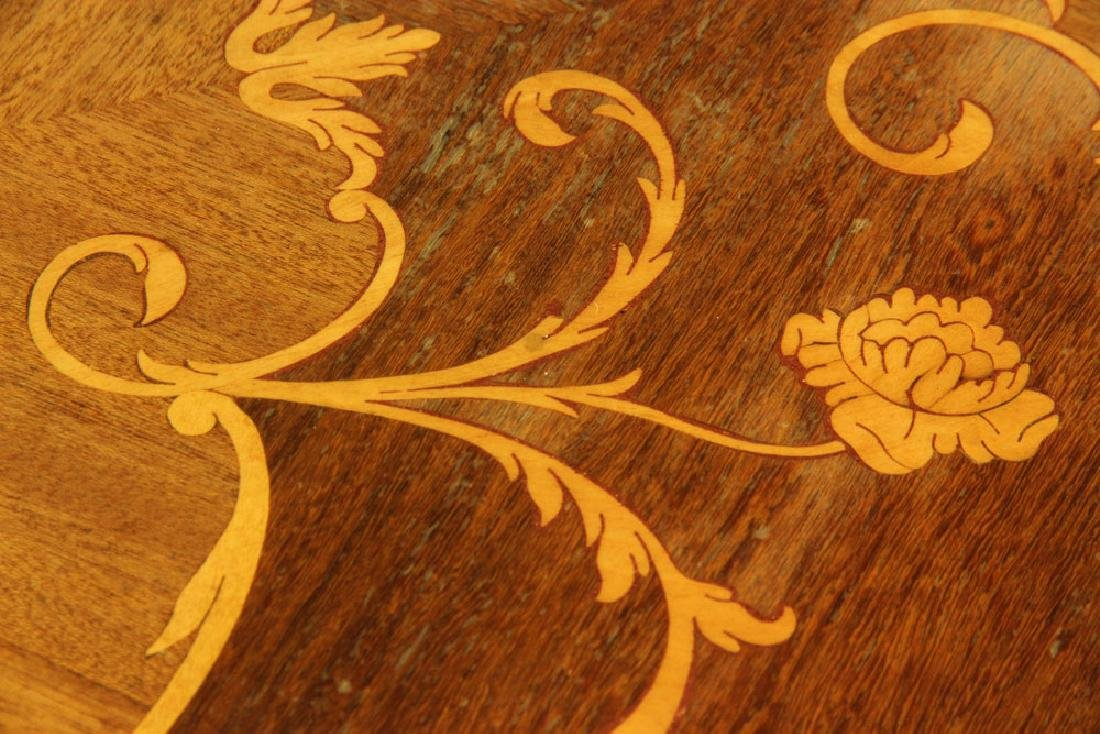 Louis XVI Style Inlaid Card Table - 7