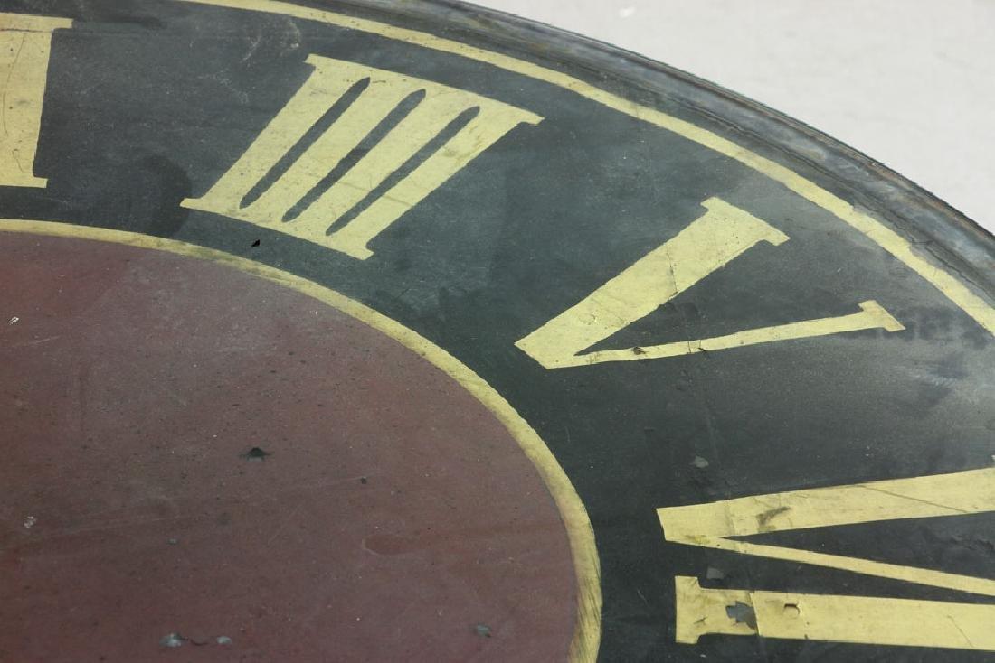 Decorative Clock Face Dining Table - 4