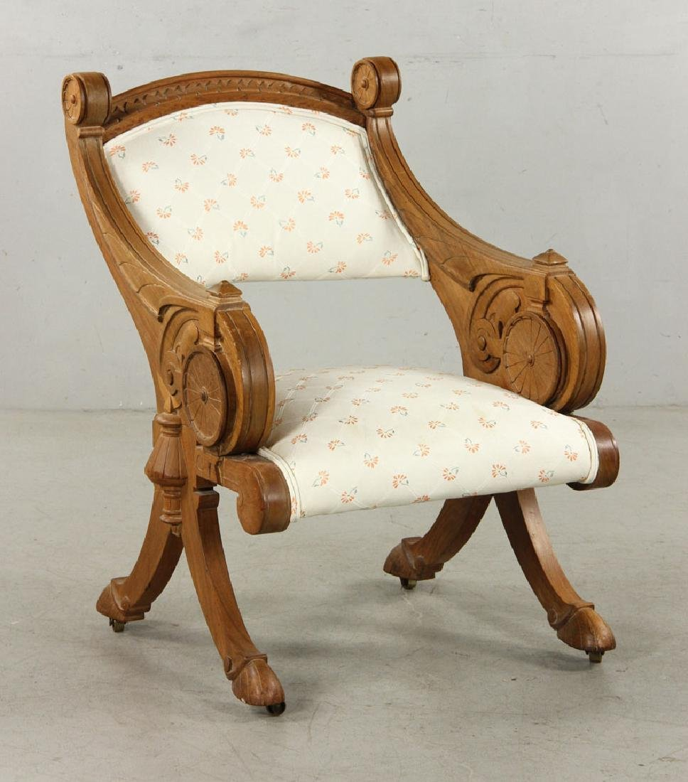 19th C. Victorian Armchair